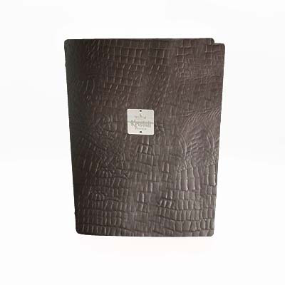 Brown Croco Recycled leder